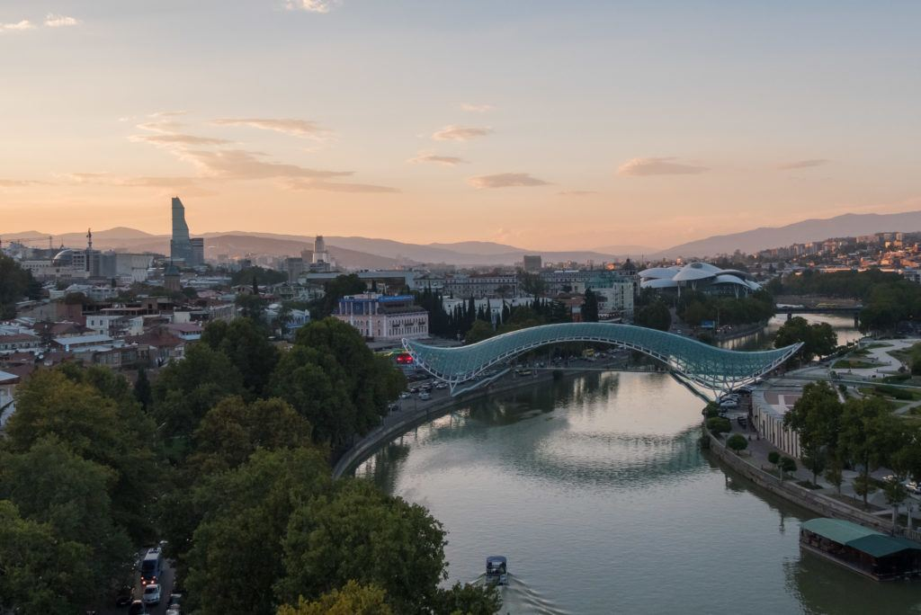 Things To Do in Tbilisi attractions | Places To Visit In Tbilisi Map Google: The Bridge Of Peace