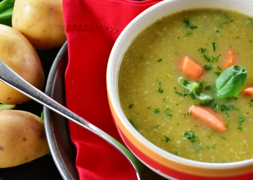 Caldo Verde (Kale, Potato & chouriço soup)