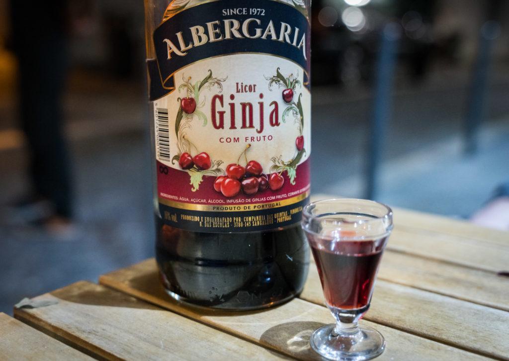 Lisbon Drinks: Ginjinha