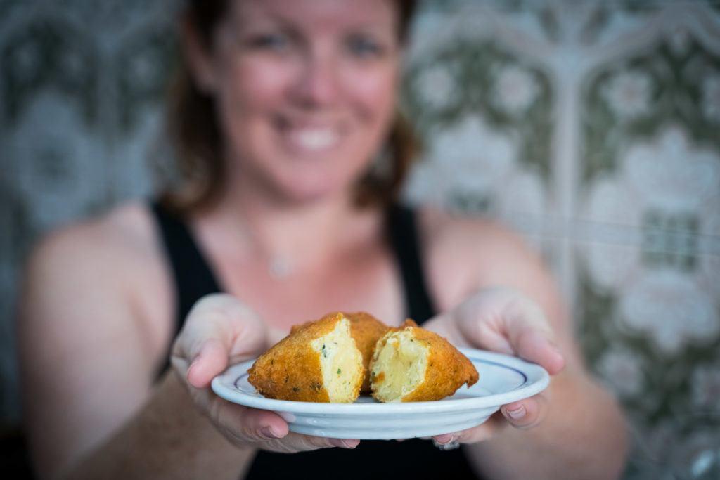 What To Eat In Lisbon: Pasteis de Bacalhau