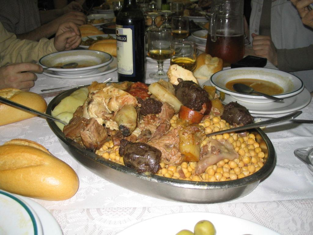 Madrid Food Guide | What To Eat In Madrid: Cocido Madrileño
