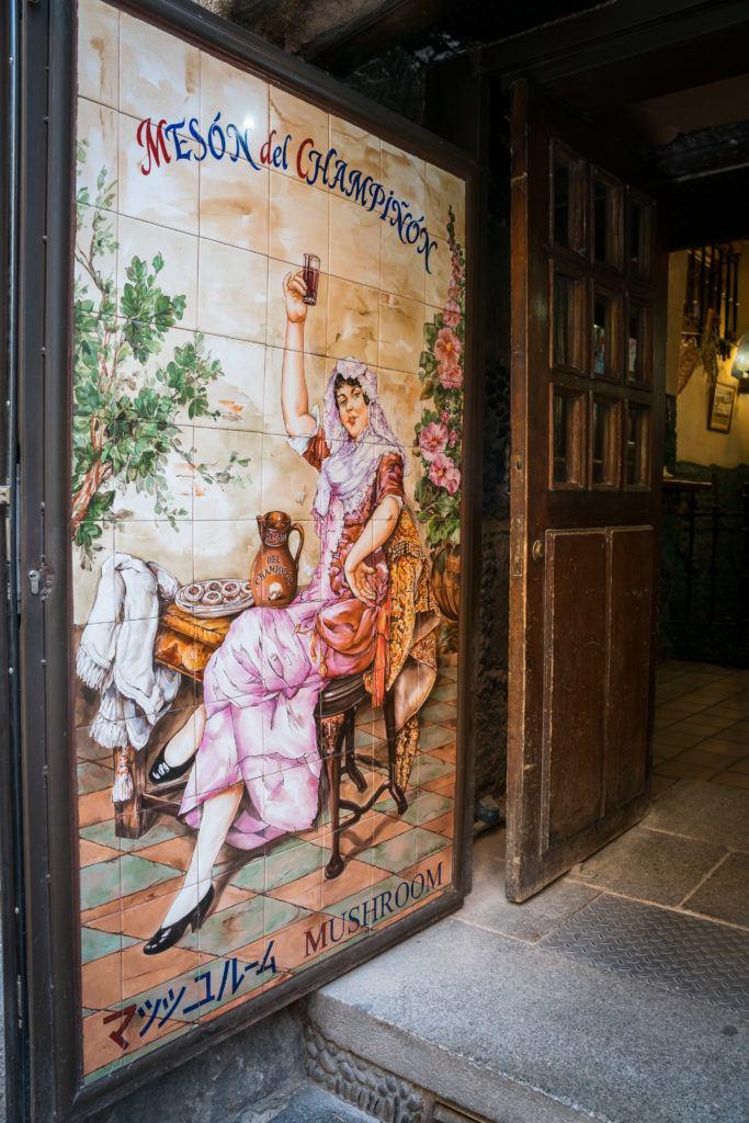 Meson Del Champinon | Madrid Food Tour