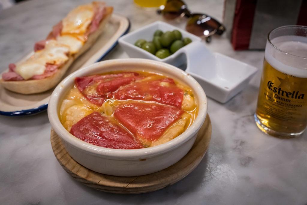 best food in madrid: Pimientos de Piquillo Rellenos (Stuffed Piquillo Peppers)