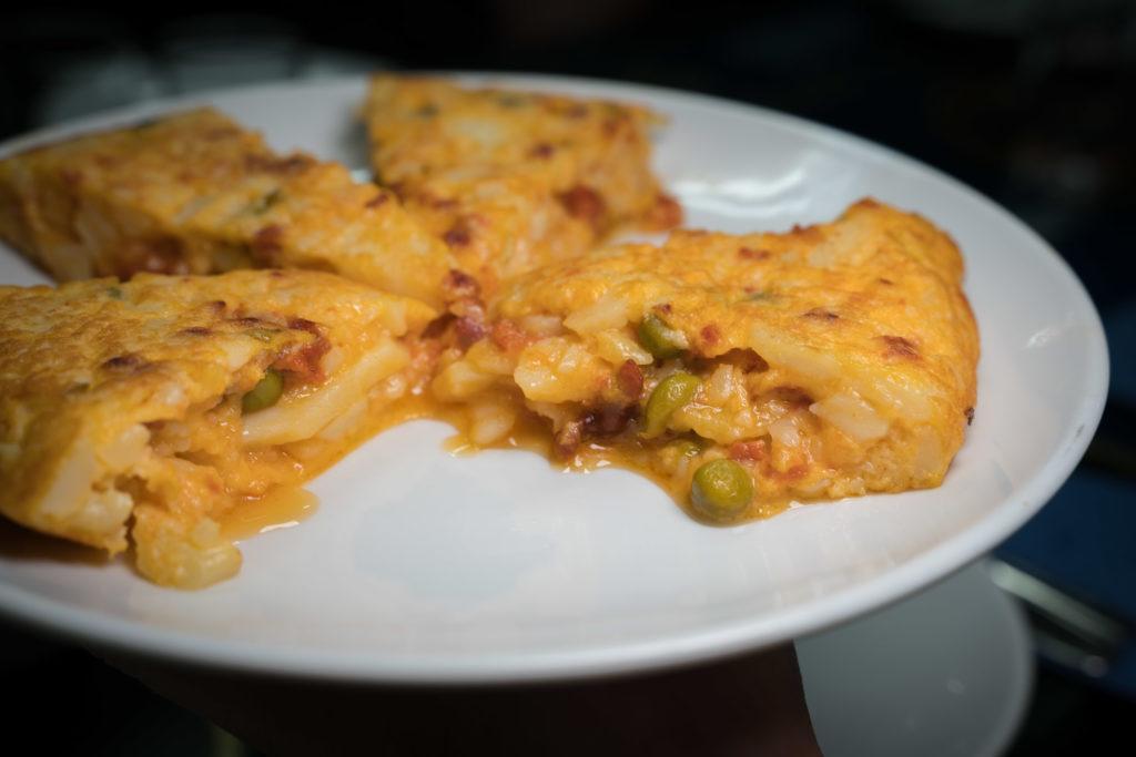 Tapas Madrid | cheap eats madrid: Tortilla de Patatas / Tortilla Española (Spanish Omelette)