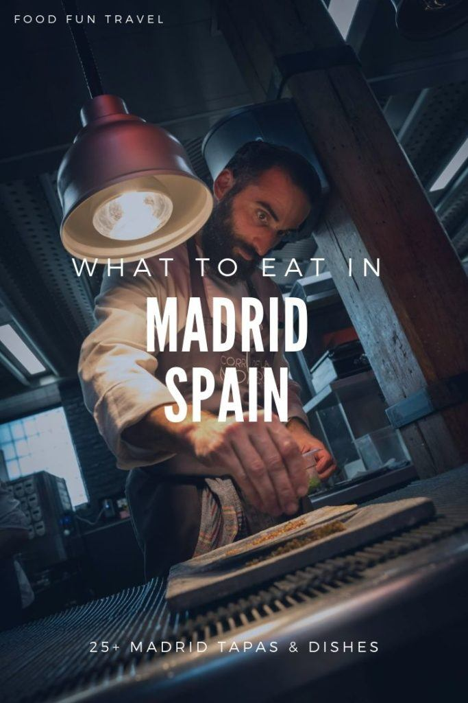 What To Eat In Madrid. Our Madrid Food Guide will help you discover the best tapas in Madrid, street food, traditional food + visit a Flamenco Restaurant