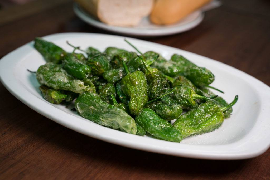 Tapas Madrid | What To Eat In Madrid: Pimientos de Padrón