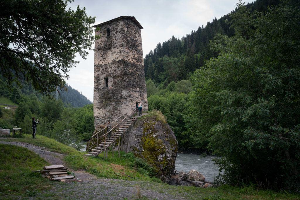 Svaneti Towers & The Love Tower