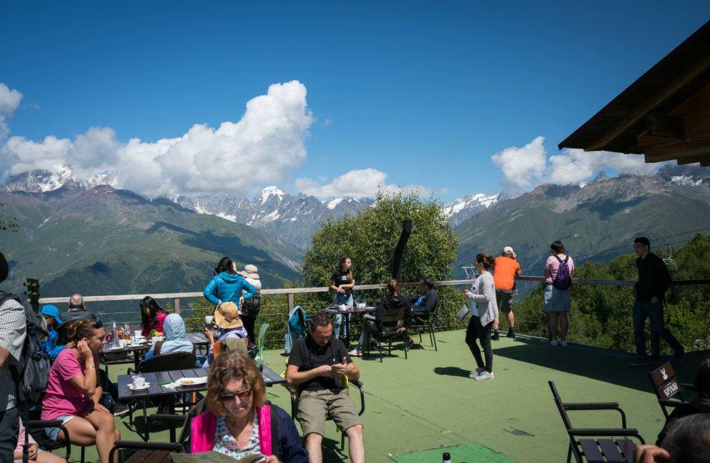 Zuruldi: The highest restaurant in Svaneti Georgia