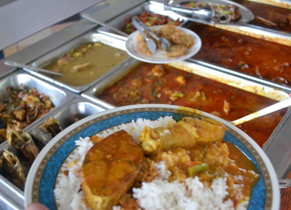 Nasi Kandar - Penang Food - Discover the Best Food In Penang + Penang Street Food