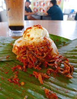 Nasi Lemak - Penang famous Food - what to eat in Penang