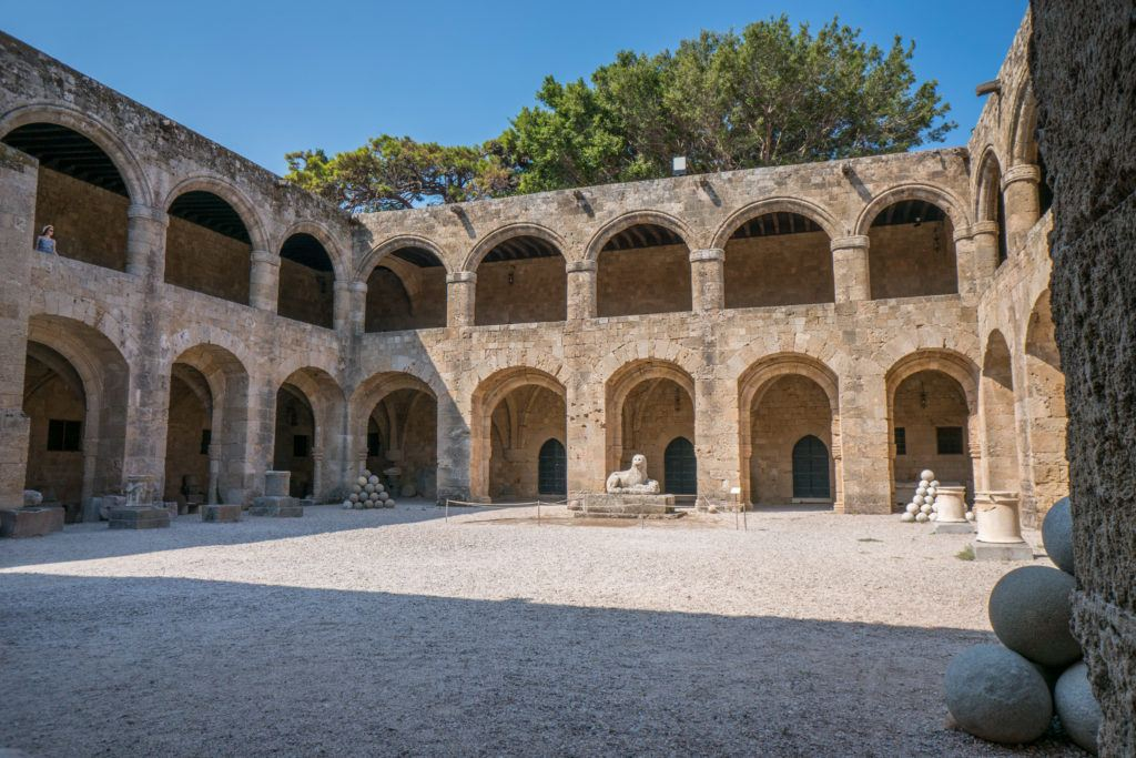 Rhodes Old Town Map | Things To Do In Rhodes Town: Archeological Museum (Hospital of the Knights)