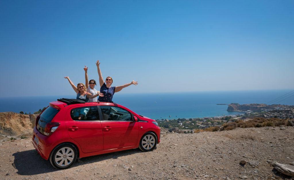 Visit More Rhodes Destinations: Rent A Car