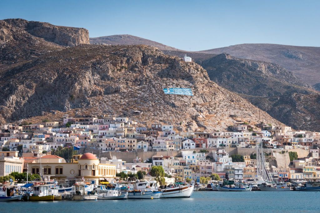 Take A Boat Trip: Kalymnos Town Harbour