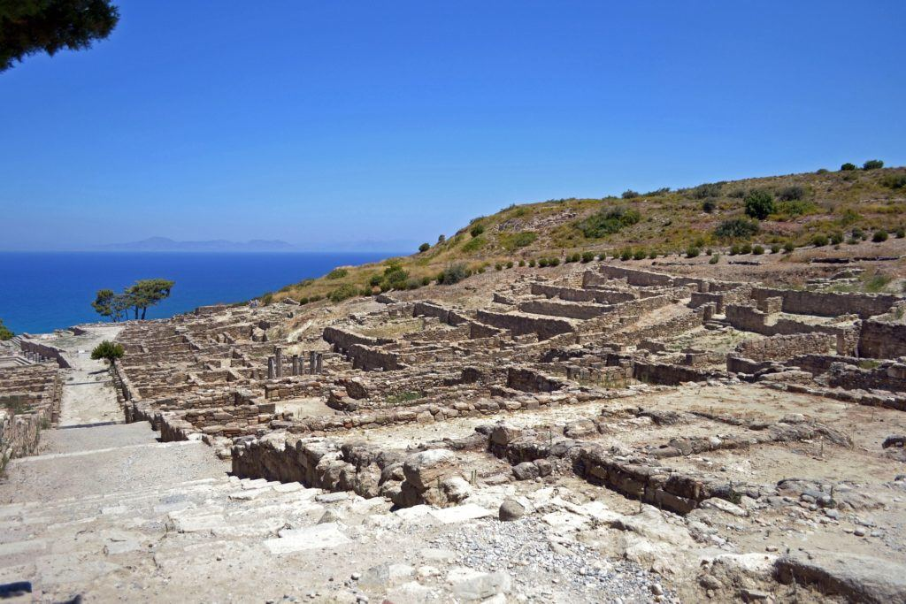 Places To Visit In Rhodes: Kamiros Ancient Ruined City