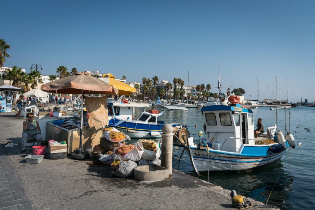 Kos Attractions & Kos Map: Destinations in Kos: Kos Town Harbour