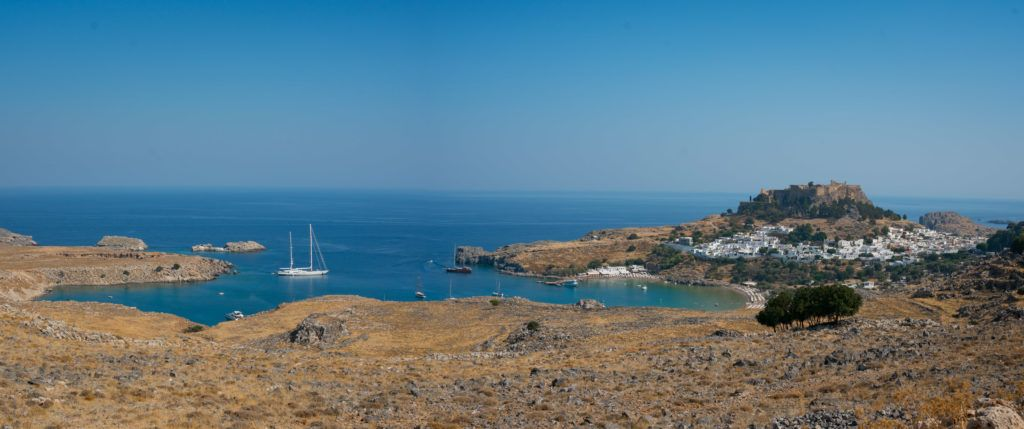 Day Trip By Boat To Lindos From Rhodes Town