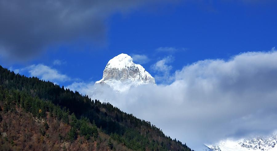 Mount Ushba, Svaneti Georgia