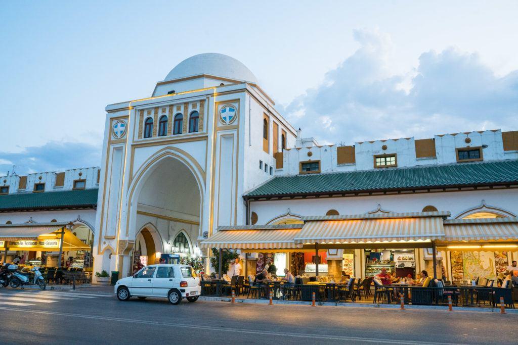 Rhodes Map & Rhodes Destinations | What To Do In Rhodes Greece: Rhodes City Nea Agora (New Market)