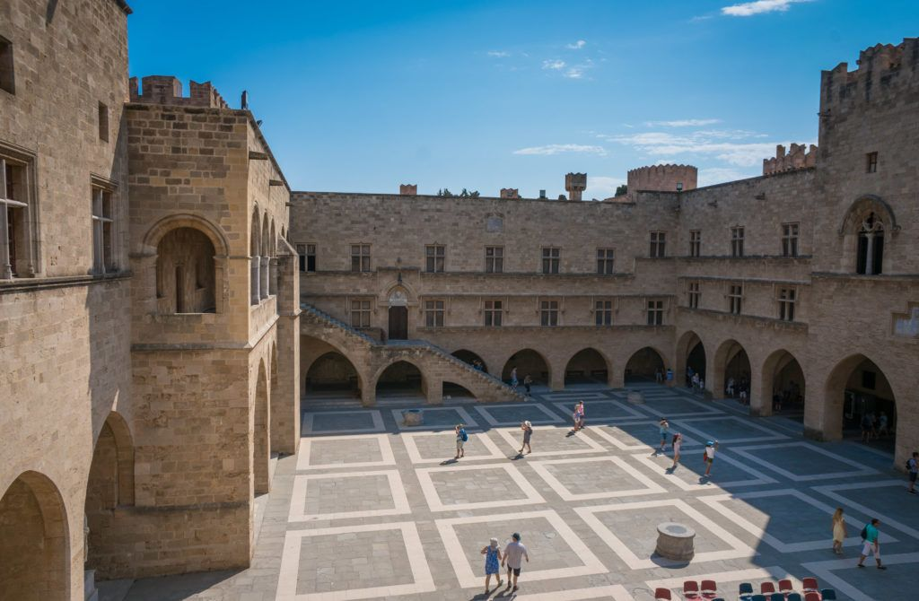 Rhodes Old Town Map | Things To Do In Rhodes Town: Palace Of The Grand Master Of The Knights Of St. John