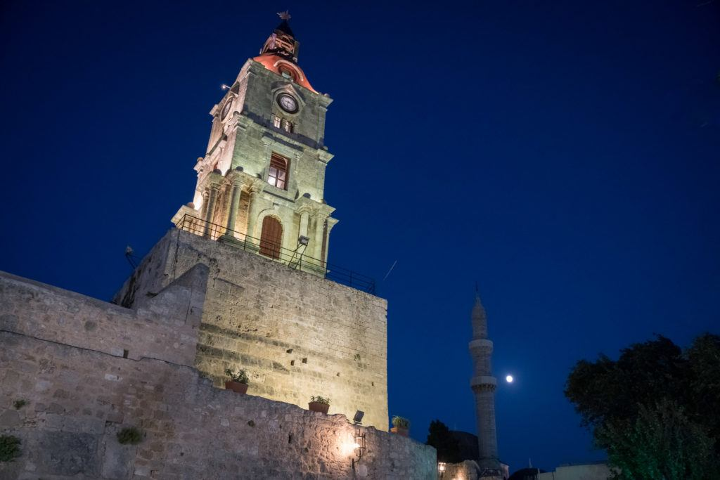 Things To Do In Rhodes Town: Climb Roloi Clock Tower