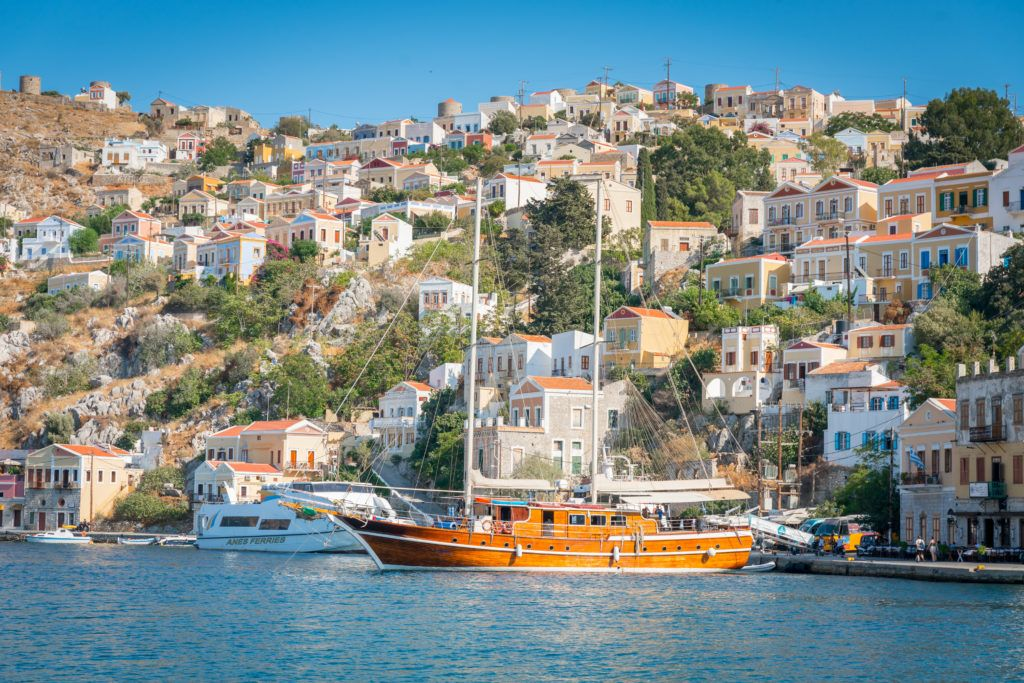 What To Do In Rhodes: Take A Boat Trip To Symi Island
