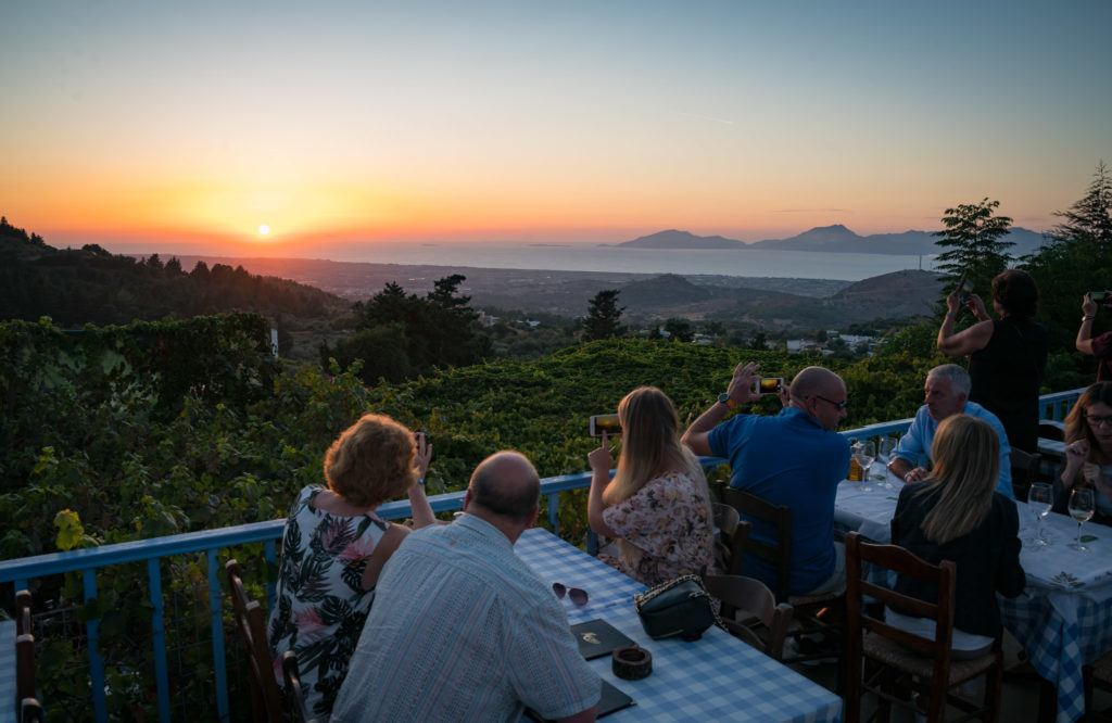 Best View In Kos - Avli Taverna