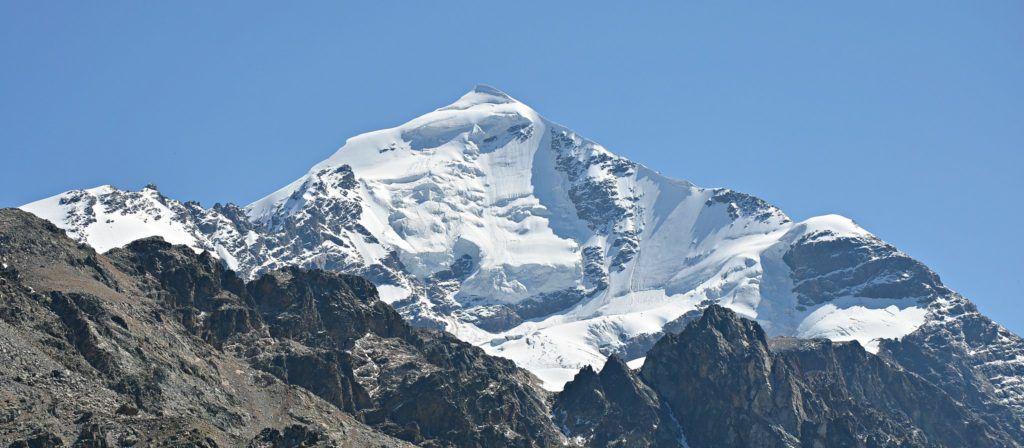 Svaneti Georgia: Mount Tetnuldi