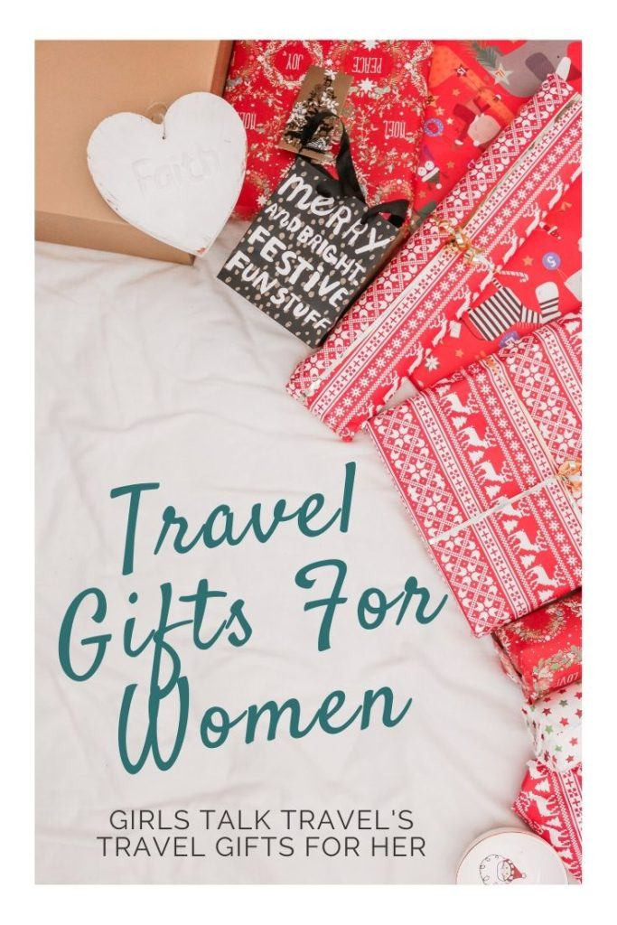 Girls Talk Travel presents their travel gift wish list. With the best travel gifts for women, travel gifts for her & gifts for friends going travelling