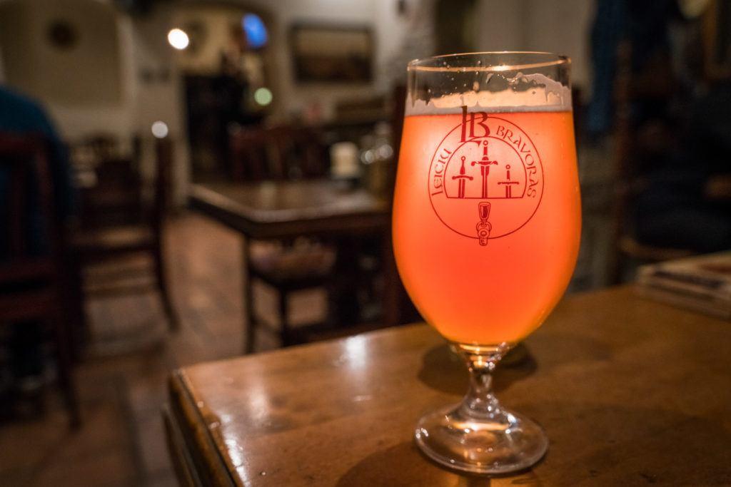 Traditional Beerhouse Vilnius (Lithuania): Alinė Leičiai