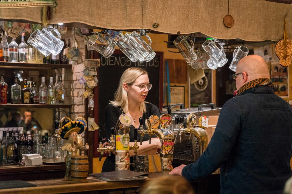 Craft Beer Vilnius Bars (Lithuania): Snekutis Stepono